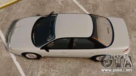 Dodge Intrepid 1993 Civil para GTA 4 visión correcta