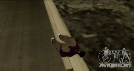 Real-Move mod 1.0 para GTA San Andreas sucesivamente de pantalla