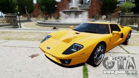 Ford GT 2005 v1.0 para GTA 4 Vista posterior izquierda