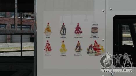 Nuevo van moroženŝika para GTA 4 quinta pantalla