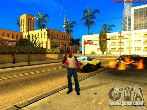 New Animations V1.0 para GTA San Andreas octavo de pantalla