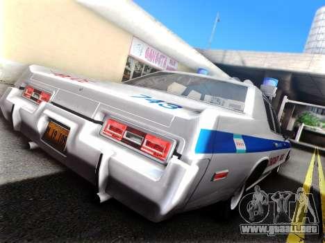 Dodge Monaco 1974 para visión interna GTA San Andreas