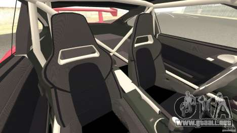 Porsche 997 GT2 Body Kit 2 para GTA 4 vista interior