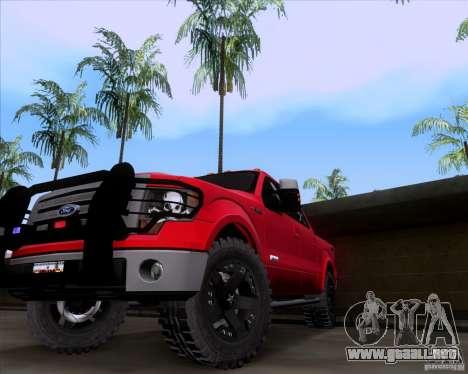 Ford F-150 4x4 para la visión correcta GTA San Andreas