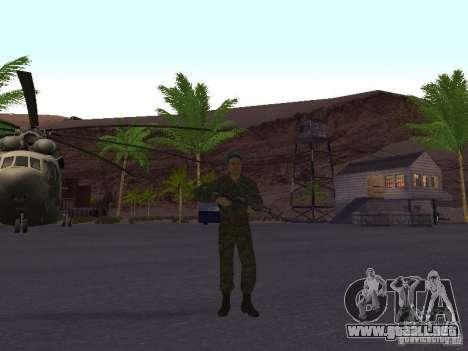 Spetsnaz VDV para GTA San Andreas
