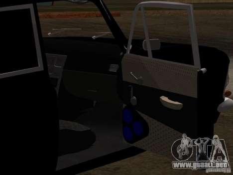 Moskvitch 408 estilo Extra para vista inferior GTA San Andreas