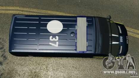 Mercedes-Benz Sprinter Police [ELS] para GTA 4 visión correcta