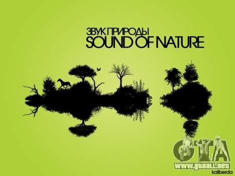 Sounds of Nature para GTA San Andreas