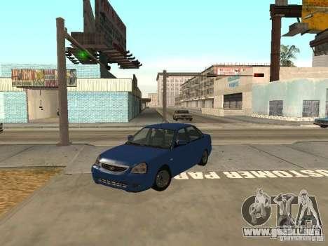 LADA 2170 drenaje para GTA San Andreas