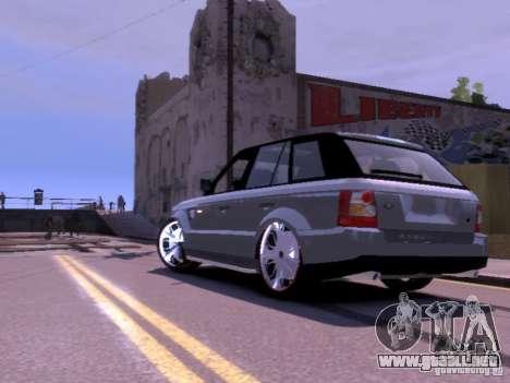 Range Rover DUB 2.0 para GTA 4 Vista posterior izquierda