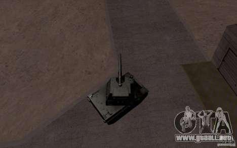 Bat. Chat. 155 SPG para vista lateral GTA San Andreas
