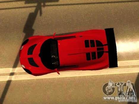 Lotus Exige 240R para visión interna GTA San Andreas