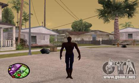 Spider Man and Venom para GTA San Andreas segunda pantalla