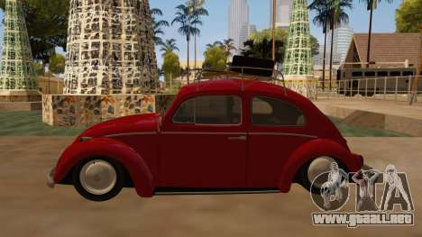 VW Beetle 1966 para GTA San Andreas left