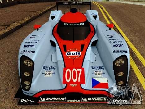 Aston Martin DBR1 Lola 007 para GTA San Andreas left