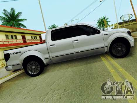 Ford F150 Platinum Edition 2013 para GTA San Andreas left