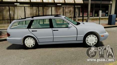 Mercedes-Benz W210 Wagon para GTA 4 left