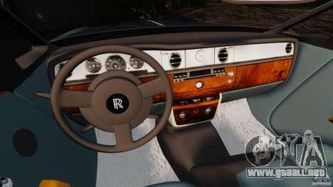 Rolls-Royce Phantom Convertible 2012 para GTA 4 visión correcta