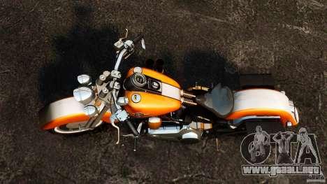 Harley Davidson Fat Boy Lo Vintage para GTA 4 visión correcta