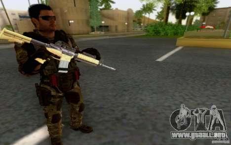 David Mason para GTA San Andreas sucesivamente de pantalla