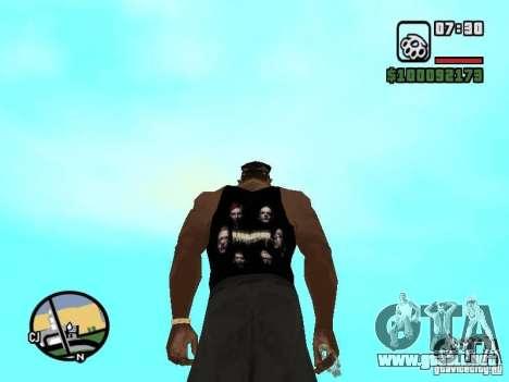 Mike Rammstein para GTA San Andreas segunda pantalla