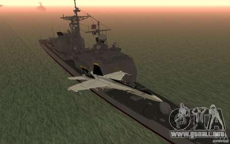 CSG-11 para GTA San Andreas quinta pantalla