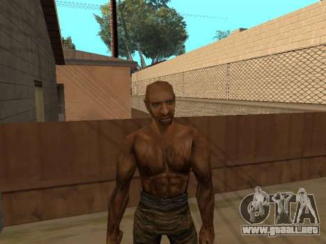 Pak pieles de Gothic 1 para GTA San Andreas sexta pantalla