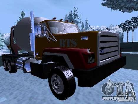 RTS 420 Šatalka para GTA San Andreas left