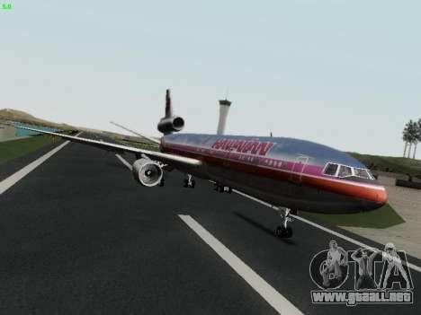 McDonell Douglas DC-10-30 Hawaiian para la visión correcta GTA San Andreas