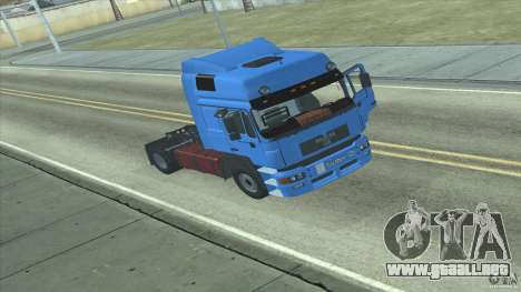 Man F2000 para GTA San Andreas left