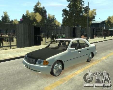 Mercedes-Benz C220 W202 para GTA 4