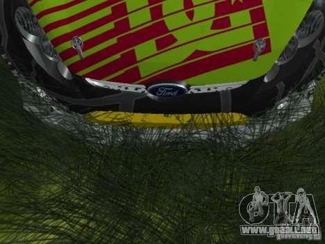 Ford Fiesta H.F.H.V. Ken Block Gymkhana 5 para visión interna GTA San Andreas