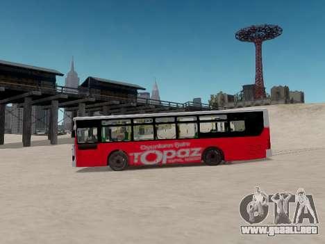 Daewoo BC211MA Baku para GTA 4 vista interior