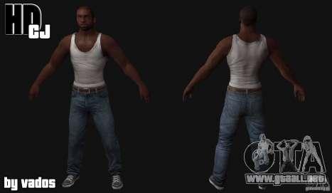 New CJ para GTA San Andreas