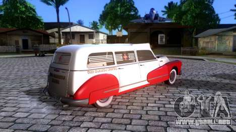 Buick Special Ambulance para GTA San Andreas left