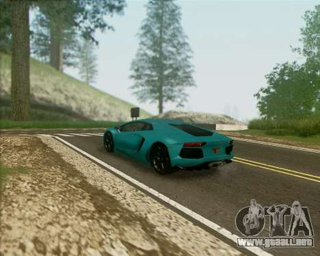 ENB v1.1 para medio- y PC de alta potencia para GTA San Andreas segunda pantalla