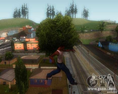 GTA IV Animations v1.1 para GTA San Andreas sucesivamente de pantalla