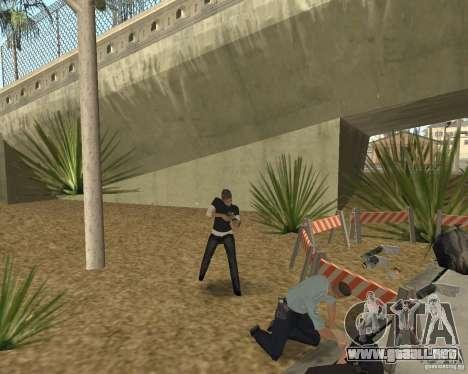 Escena del crimen (escena del crimen) para GTA San Andreas sexta pantalla