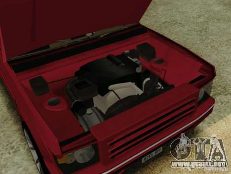 Huntley Freelander para la visión correcta GTA San Andreas