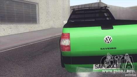 Volkswagen Saveiro 2013 para GTA San Andreas left