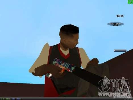 Graffiti Gun Pack para GTA San Andreas segunda pantalla