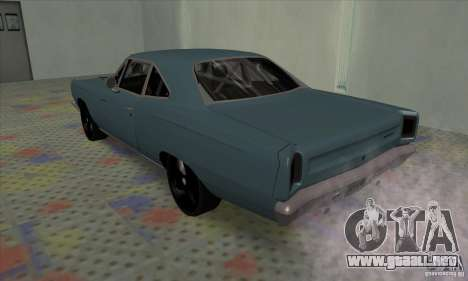 Plymouth Roadrunner para la visión correcta GTA San Andreas