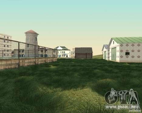 Nuevo campo del distrito de sueños para GTA San Andreas sexta pantalla