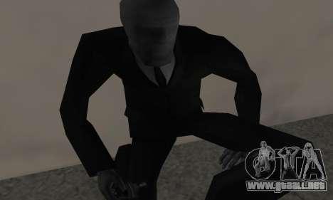 Slender Man para GTA San Andreas tercera pantalla