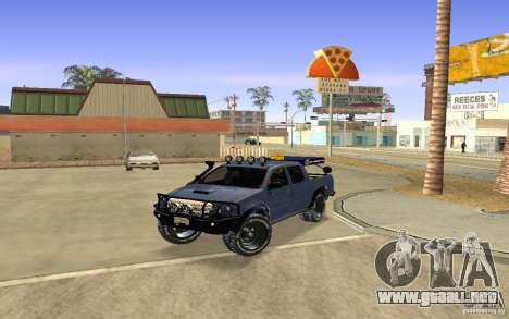 Toyota Hilux Rally Version para GTA San Andreas