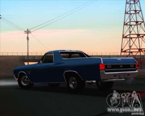 Chevrolet EL Camino SS 70 para GTA San Andreas left