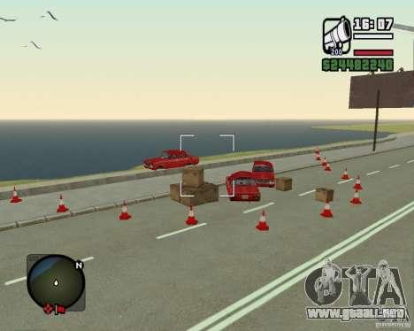 Gosport Road-Nižegorodsk para GTA San Andreas tercera pantalla