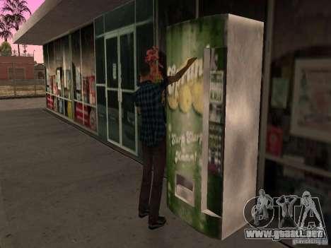 Gasolinera ocupado en Los Santos para GTA San Andreas sexta pantalla