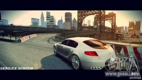 Bugatti Galibier 16C (Bug fix) para GTA 4 visión correcta