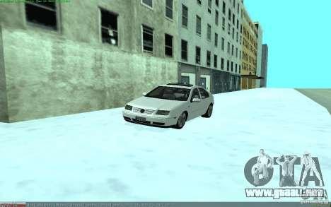 Volkswagen Bora 1.8 para la visión correcta GTA San Andreas